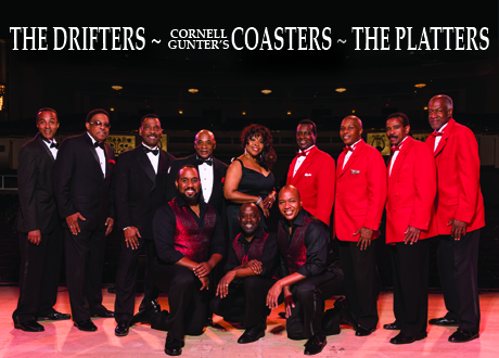 The Drifters, Cornell Gunter's Coasters & The Platters at Byham Theater